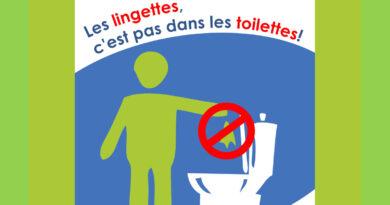 Stop aux lingettes :